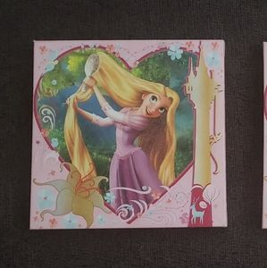 Disney Tangled Rapunzel Canvas
